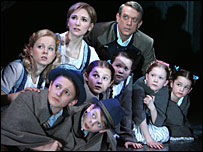 Summer Strallen with some of the Sound of Music cast