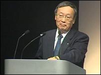 Toyota Motor Corporation executive vice-president Tokuichi Uranishi