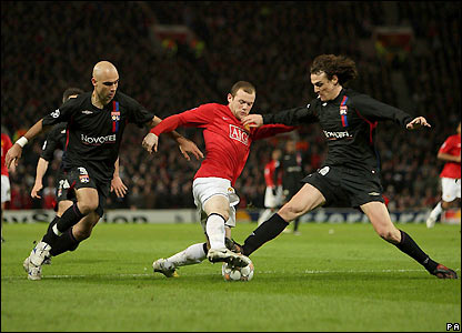 Rooney looks for a way through