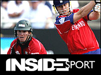 Brendan Taylor and Andrew Flintoff