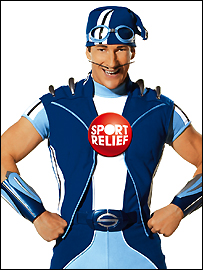 CBeebies star Sportacus will be doing the London Sport Relief Mile