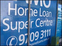 Home Loan sign