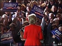 Clinton en Columbus, Ohio, el 4 de marzo.