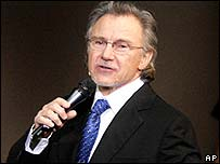 Harvey Keitel in Jerry Springer - The Opera