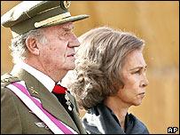Rey Juan Carlos y Reina Sof�a