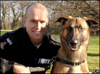 Handler Pc Steve Henry with Louis