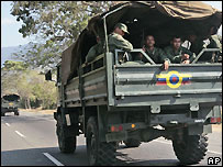 Venezuelan troops move towards border with Colombia - 4/3/2008