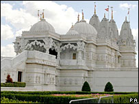 Shree Swaminarayan Temple in Neasden