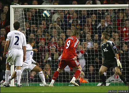 Torres guides home Liverpool's second