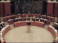 44471847 parliament ap203b Øynene rettet mot Slovakia