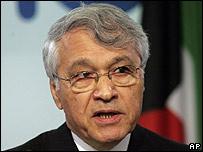 El presidente de la OPEP, Chakib Khelil