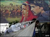 Hoarding for Bollywood film Jodhaa Akbar