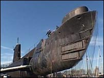 The World War II submarine