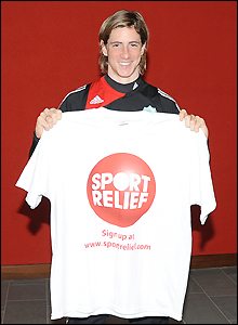 Fernando Torres backs Sport Relief