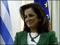 Greek Foreign Minister Dora Bakoyannis
