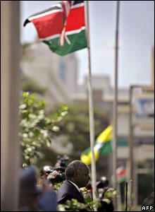 Kenya's parliament in Nairobi holds its state opening