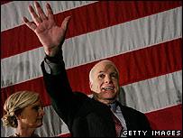 John McCain at a campaign rally in Dallas 04.03.08