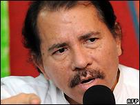 Nicaraguan President Daniel Ortega - 6 March 2008