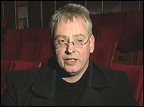 Playwright Alan Pollock