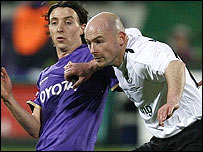 Riccardo Montolivo (left) and Lee Carsley