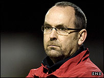 Gretna director of football Mick Wadsworth