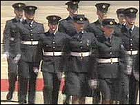 Marching personnel