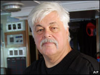 Sea Shepherd activist Paul Watson, file image