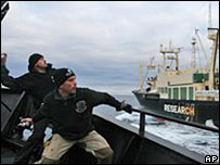 Sea Shepherd activists, 03/03