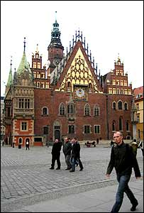 Wroclaw town centre