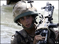 Pte Aaron Holmes, on operations in Afghanistan in August 2007