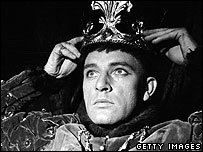Richard Burton as Henry V
