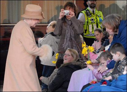 The Queen meets children with disabilities