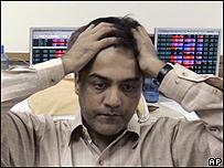 Corredor de bolsa en India, AP