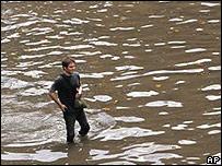 Inundaciones en las calles de Buenos Aires, 28 de febrero de 2008