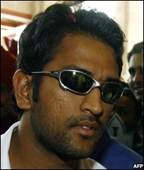 Indian captain Dhoni