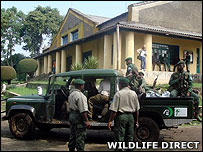File image of wildlife rangers in Virunga National Park (WildlifeDirect)