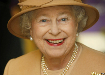 The Queen during her visit to Swansea