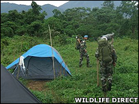 UN peacekeepers on patrol (Image: Wildlife Direct)