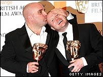Shane Meadows at the Baftas