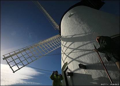 Melin Llynnon windmill in North Wales