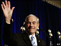 Ron Paul at the Conservative Political Action Conference in Washington DC, 7 Feb 2008