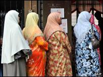 Voters in Kelantan, Malaysia