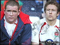 Phil Vickery and Jonny Wilkinson
