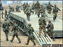 Join US-South Korea military exercise in Seoul on 6 March 2008