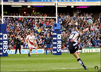 Chris Paterson's goal-kicking was superb once again