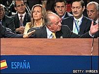 El Rey Juan Carlos de España en la XVII Cumbre Iberoamericana