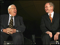 Ian Paisley and Martin McGuinness (05/03/2008)