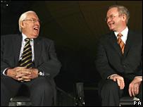 Ian Paisley and Martin McGuinness (05/03/2008)