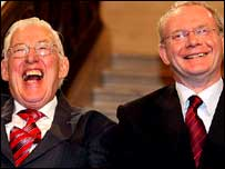 Ian Paisley and Martin McGuinness