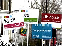 For sale signs